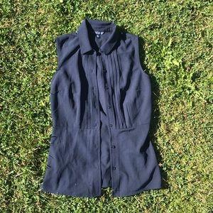 FREE ADDON Tommy Hilfiger button up vest
